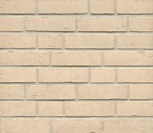 Klinkerriemchen R763 Vascu Perla, weiß nuanciert, Wasserstrichoptik