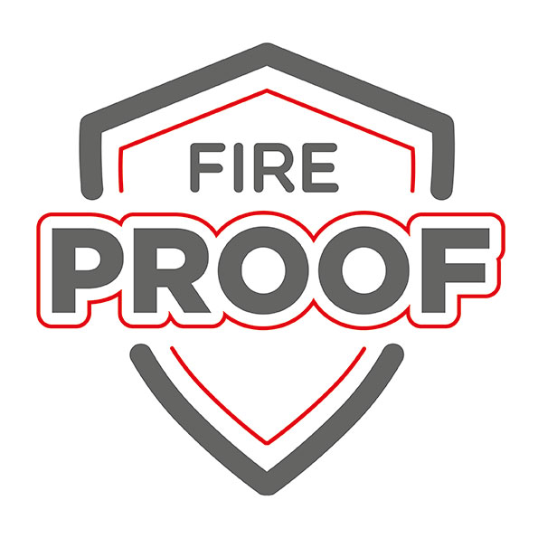 Fireproof Glasfasergewebe K verstärkt